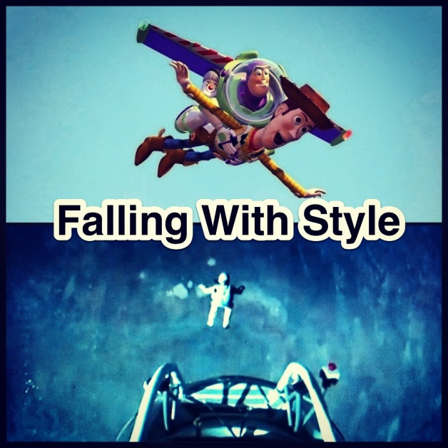 Red Bull Stratos Falling With Style
