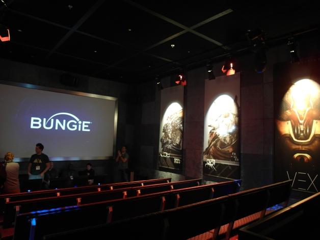 Bungie's Destiny booth was a grand affair - E3