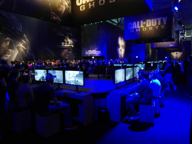 The Call of Duty booth was massive - Gamescom
