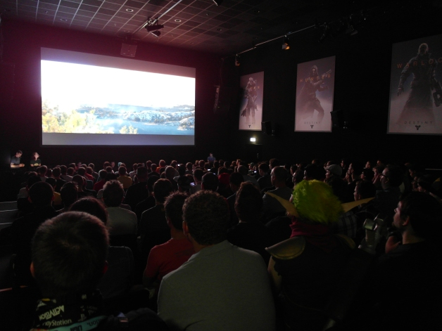 ...whilst at Gamescom we had massive audiences.
